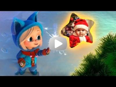 ----590руб----Новогодний детский проект Proshow Producer 'Российский Дед Мороз'