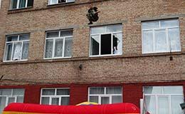 Такие прыжки с 3 этажа могут только наши!